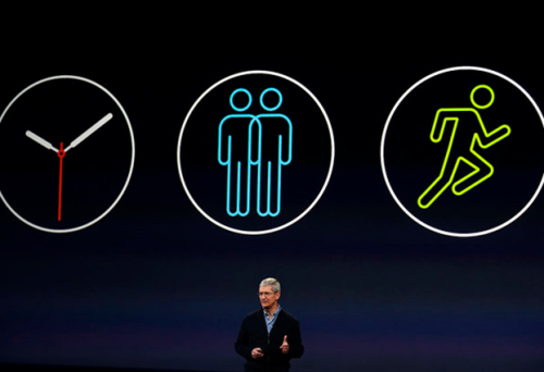 Tim Cook about the Apple Watch on 9 March